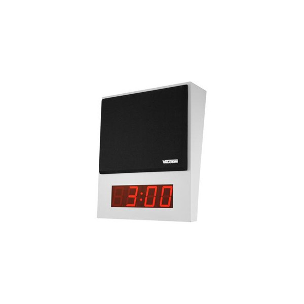 Valcom VIP-411-DS  One-Way SIP Speaker and Digital Clock