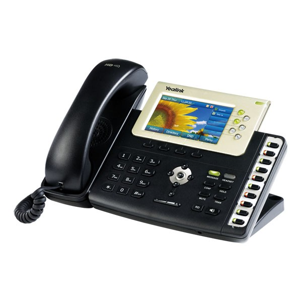 6-Line SIP Gigabit Phone