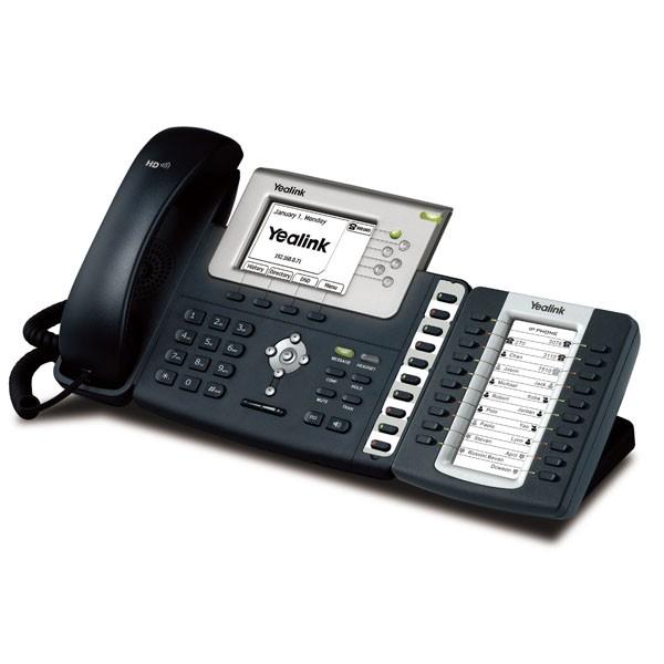 Yealink EXP39 on phone