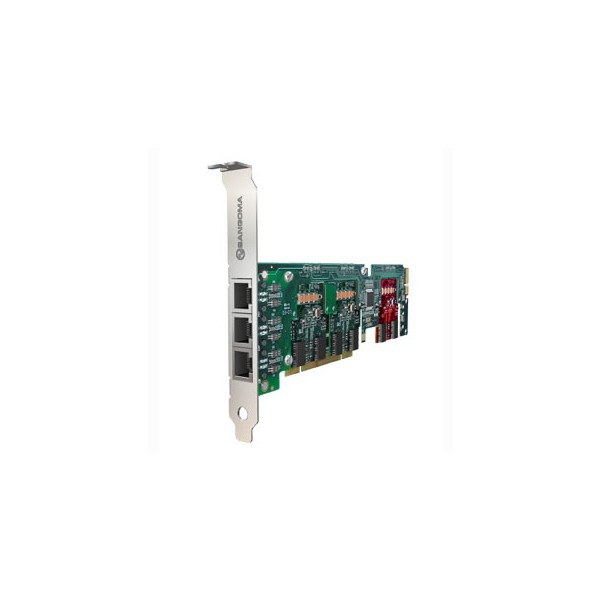 Sangoma A512D 24BRI PCI Card with Echo Cancellation