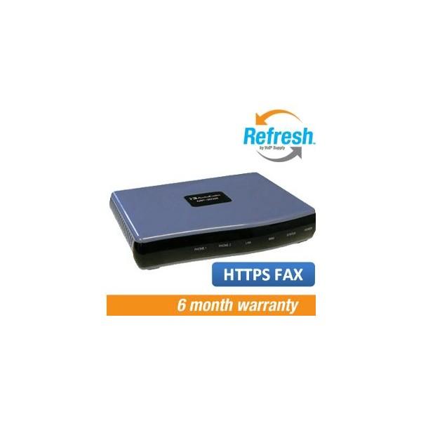 Audiocodes MP202 HTTPS Fax