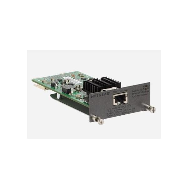 Netgear AX745  ProSafe 10GBASE-T RJ45 I/O MODULE