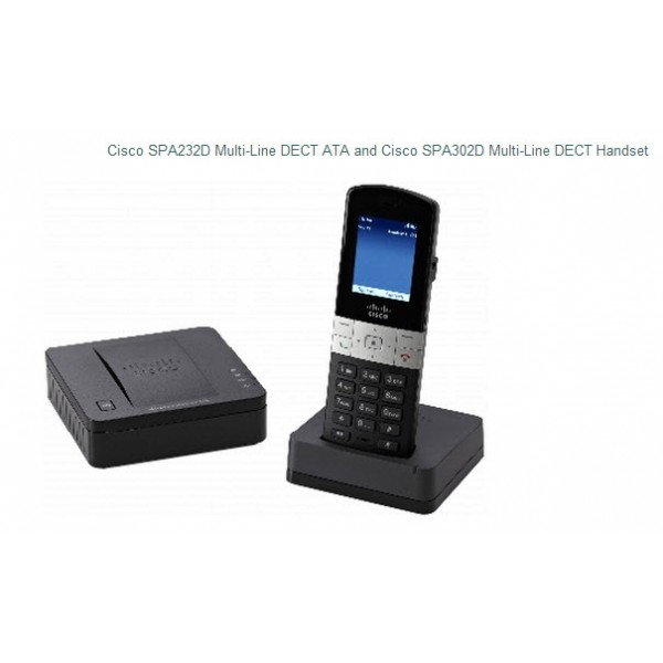 Cisco SPA302D and SPA232D DECT ATA