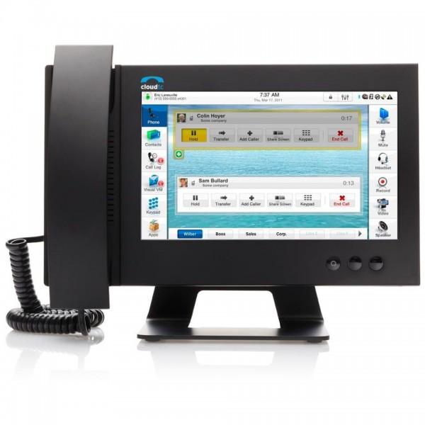 CloudTC Glass Touchscreen VoIP Phone
