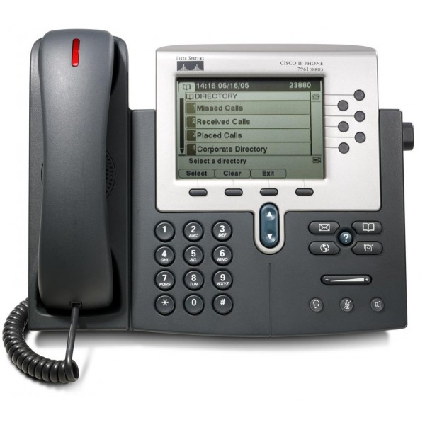 Refreshed Cisco Cp 7961g Voip Supply