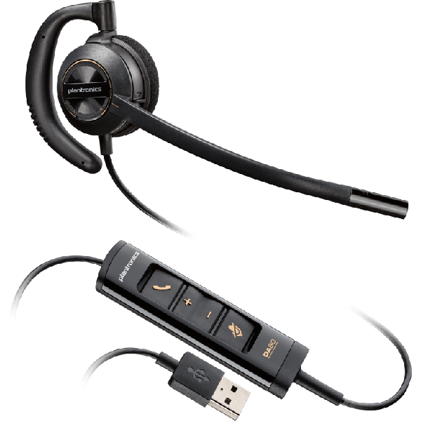 ENCOREPRO 500 USB Series Monaural Over-the-ear NC Headset 203446-01