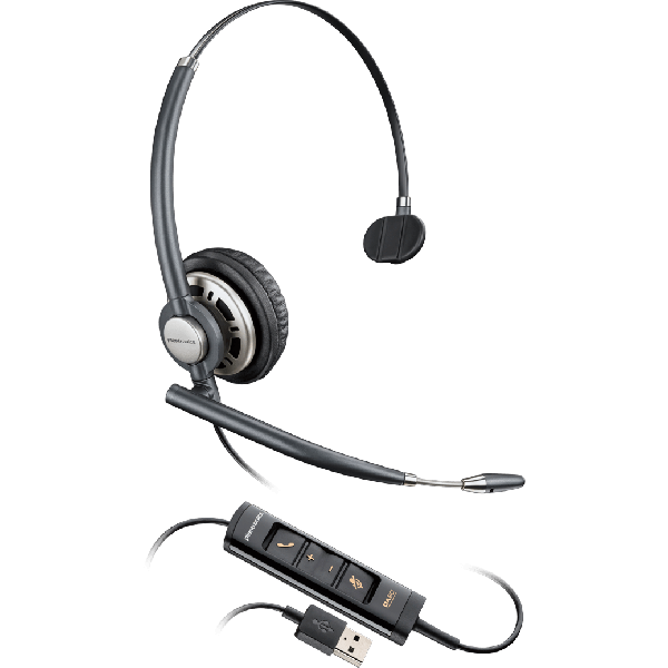 ENCOREPRO 700 USB Series Monaural Over-the-head NC Headset HW715