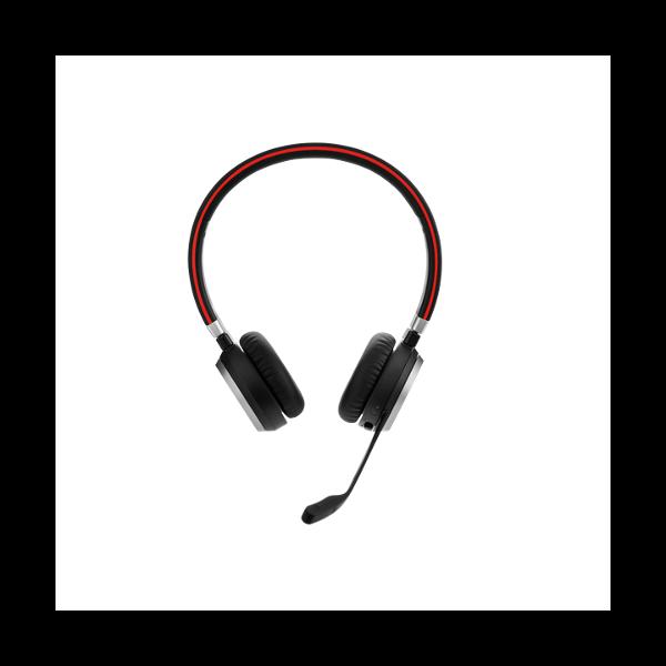 Jabra Evolve 65 Uc Mono Wireless Headset With Jabra Link: Jabra EVOLVE 65 MS Stereo Wireless Headset