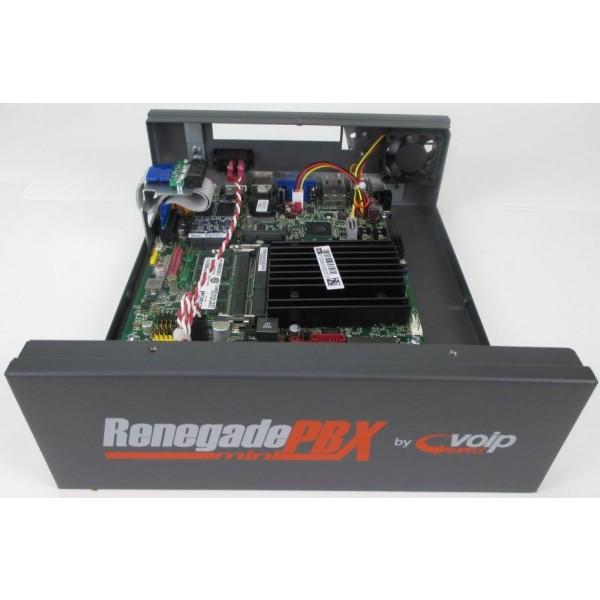 Inside the RenegadePBX mini Appliance