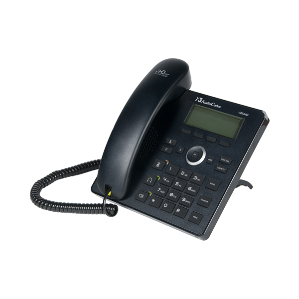 Audiocodes 420HD SIP Phone with External Power Supply