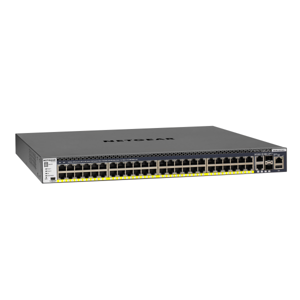 NETGEAR M4300-52G-PoE+ (550W PSU) Stackable Managed Switch (GSM4352PA)