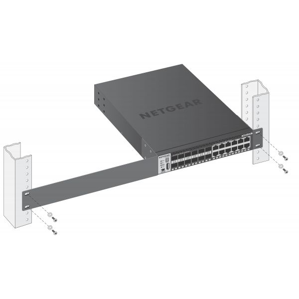 NETGEAR M4300-12X12F Stackable Managed Switch (XSM4324S)