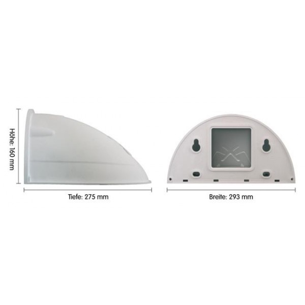 Mobotix Outdoor Housing MX-WH-DOME