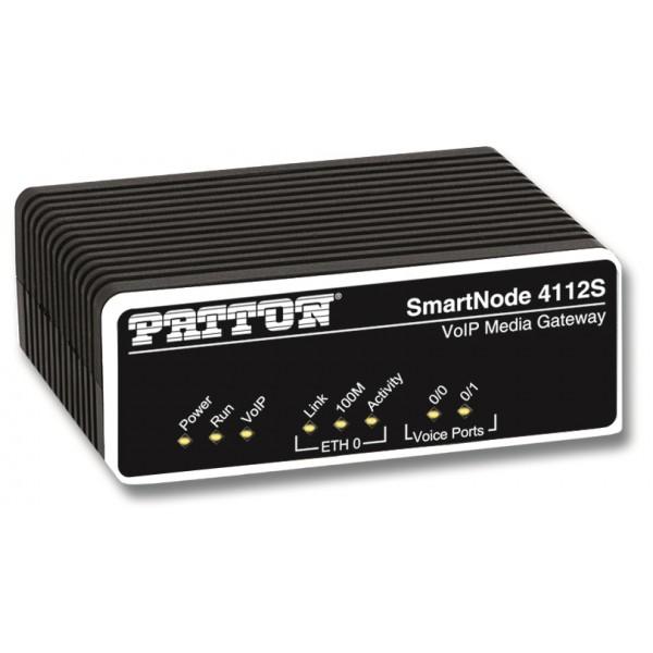 Patton SmartNode 4112s 2-FXS Gateway