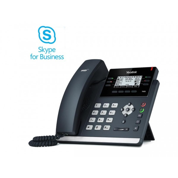 Yealink SIP-T42S-Skype for Business® Edition (SFB-T42S)
