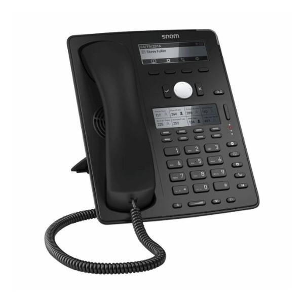 Snom - D745 VoIP Desk Telephone with PoE - Black