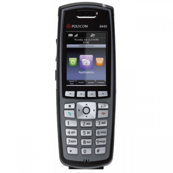 Spectralink 8440 Black Single Handset Bundle