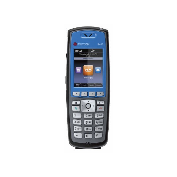 Spectralink 8440 Blue Single Handset Bundle 2