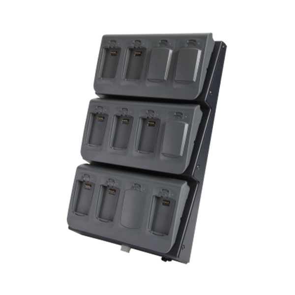 Spectralink 12-Bay Charger Bundle for 8400 Series