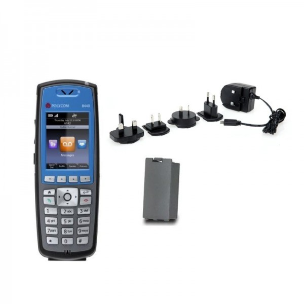 Spectralink 8440 Blue Single Handset Bundle