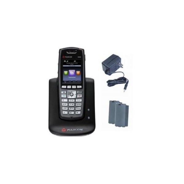 Spectralink 8450 Black Dual Charger Bundle