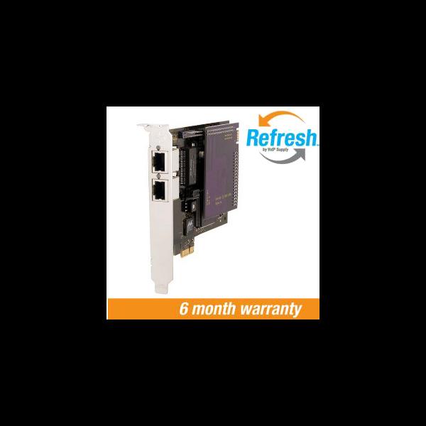 Digium TE220B Dual T1 PCIe Card with EC (VSRF)