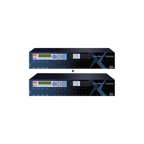 Xorcom Blue Steel IP-PBX failover system TwinStar Plus CXTS4000