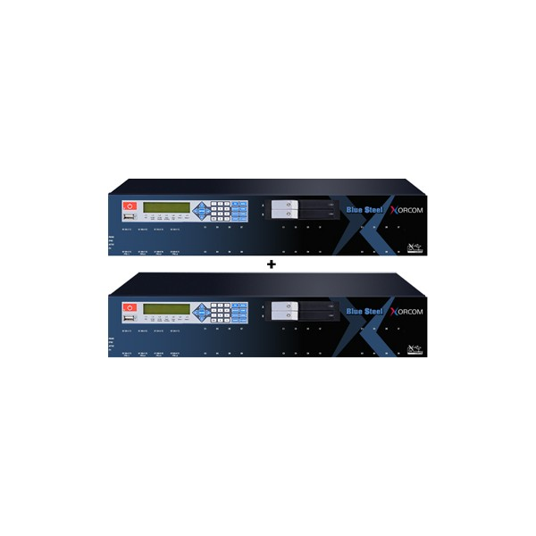 Xorcom Blue Steel IP PBX Phone System Failover Twinstar Plus CXTS3000