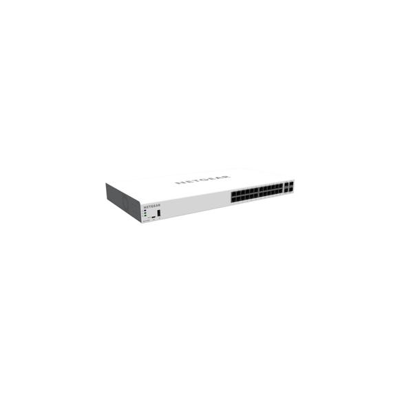 Netgear GC728XP Insight Managed 28-Port Gigabit, PoE+ Smart Cloud Switch with 2 SFP and 2 SFP+ Fiber Ports