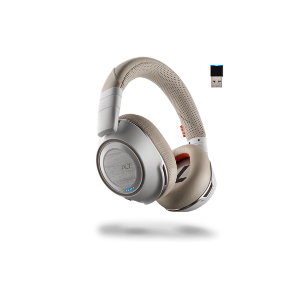 Plantronics Voyager 8200 UC Stereo Bluetooth Headset (White)