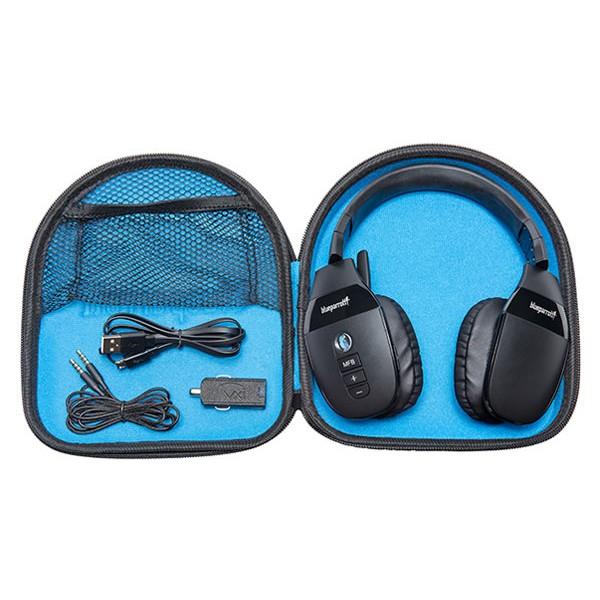 VXI BlueParrott S450-XT Stereo Headset  carry  case