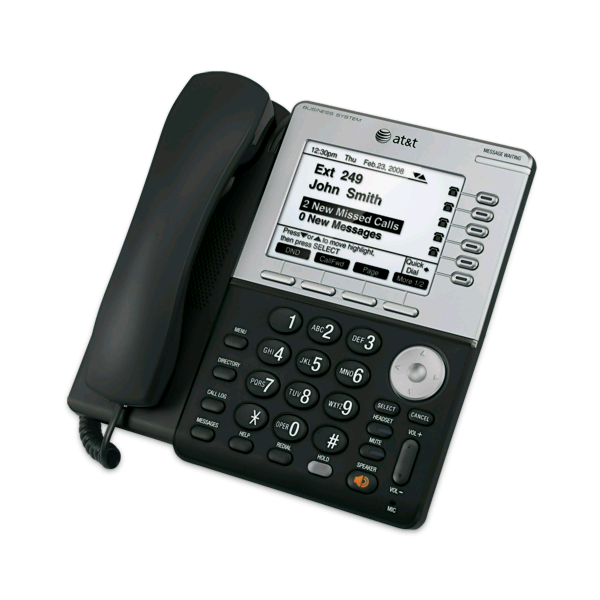 ATu0026T Synapse SB67035 Feature Business Phone With PoE / Corded IP Phones /  VoIP Phones / Products   VoIP Supply