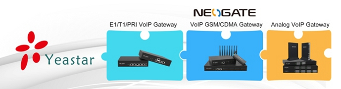 Yeastar NeoGate Gateways