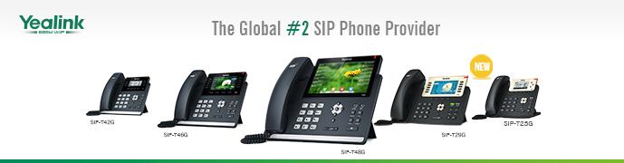 Yealink T4 T2 VoIP Phones