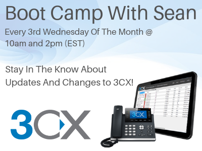 3CX Boot Camp