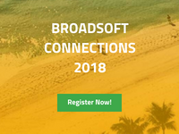 BroadSoft Connections 2018