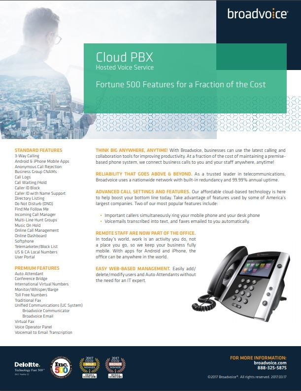 Broadvoice CloudPBX
