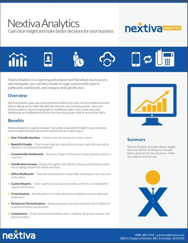 Nextiva Analytics