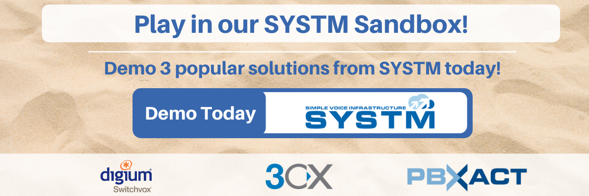 Demo 3 popular solutions from SYSTM today!