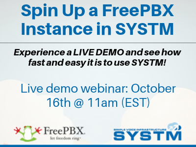 Live Demo SYSTM