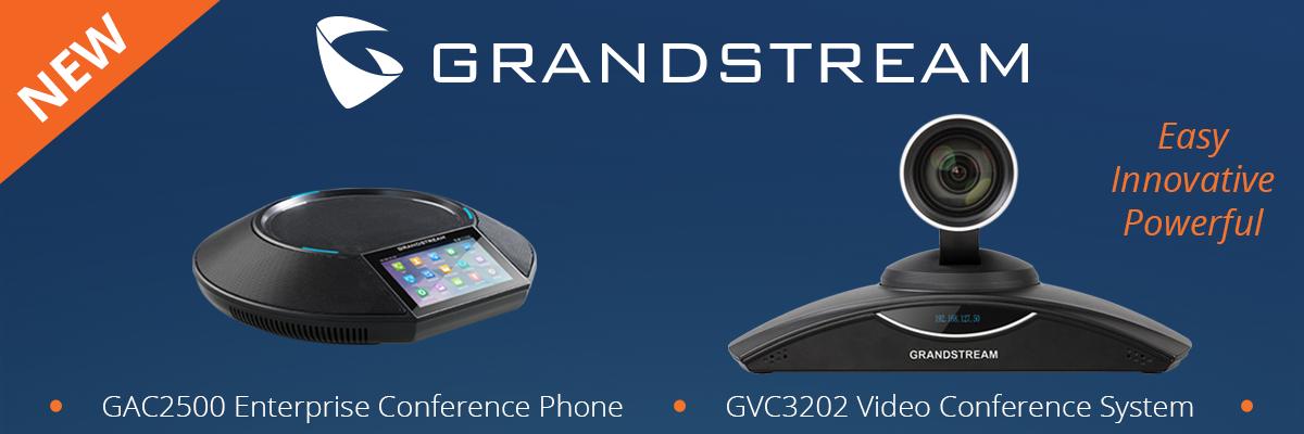 Grandstream GXV3200 and GAC2500