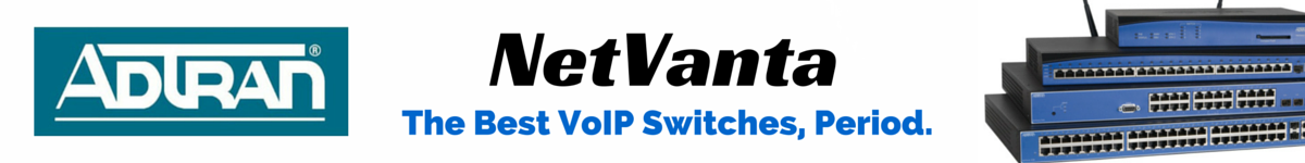 Adtran Netvanta VoIP Switches