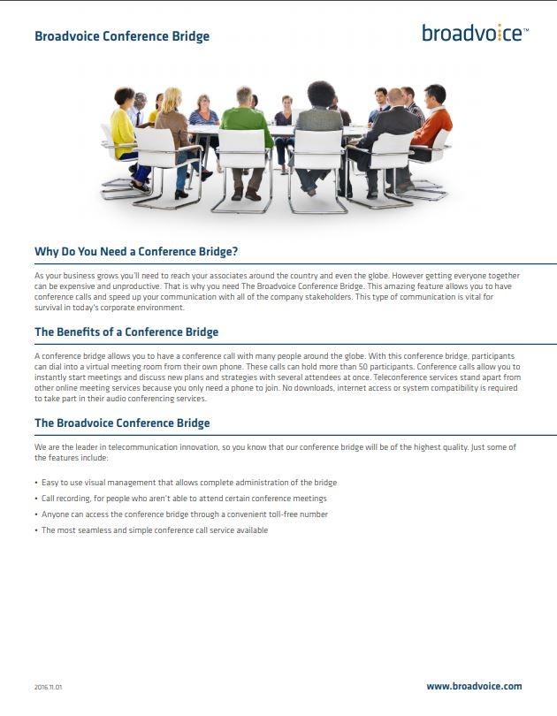 Conference Bridge