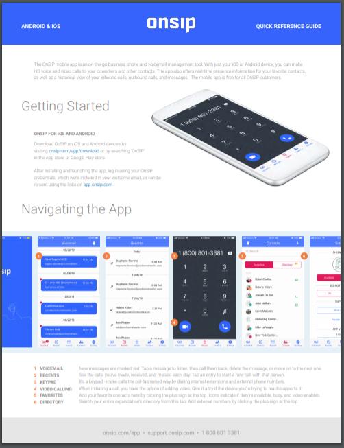 OnSIP Mobile