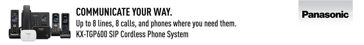 Panasonic KX-TGP600 SIP cordless phone system