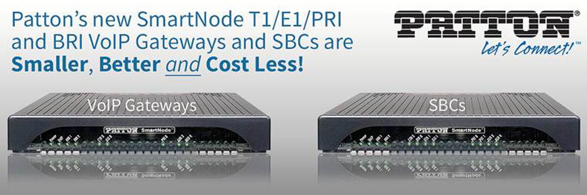 Patton SmartNode VoIP Gateways SBCs