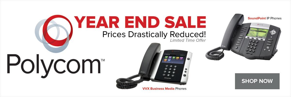 Polycom VoIP Phones on Sale