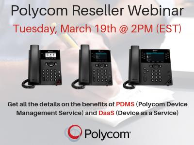 Polycom Reseller Webinar