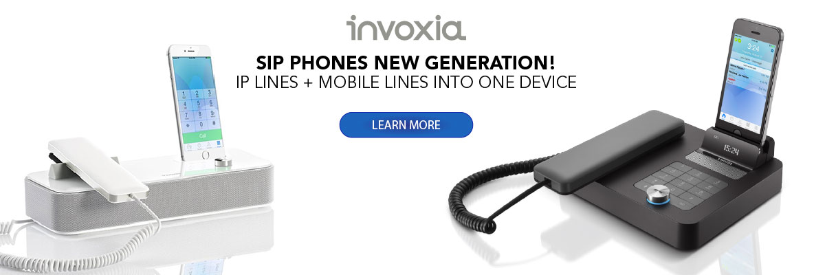 Invoxia New Generation SIP Phones