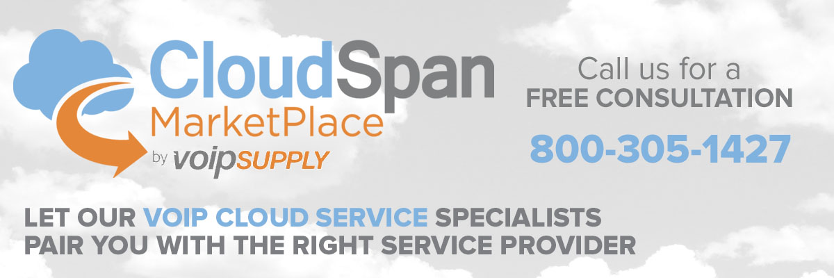 VoIP Cloud Service from the CloudSpan Marketplace